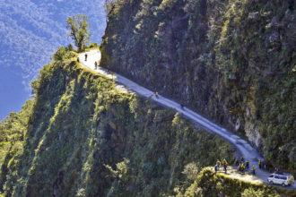 North Yungas Road (aka 'Death Road'), Bolivia.