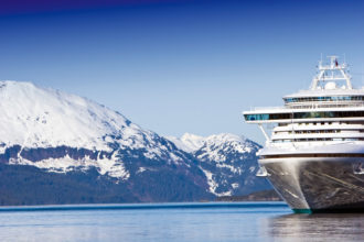 Alaska was voted the best destination for cruising in International Traveller's Readers' Choice Awards 2015.