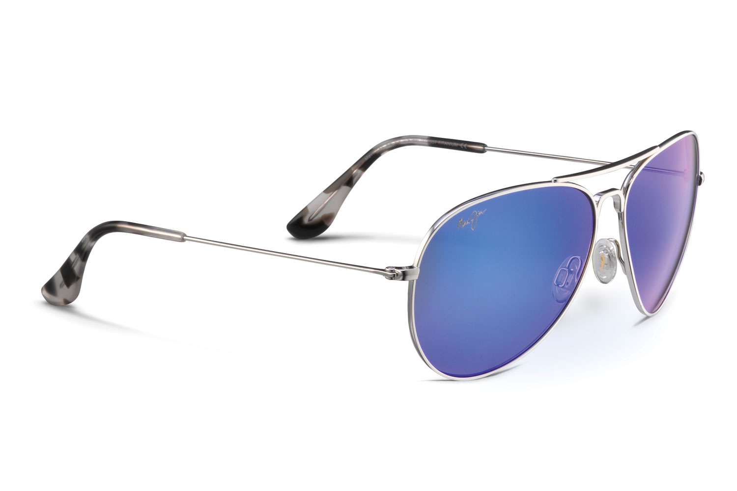 Maui jim aviator polarized sunglasses for Maui jim fishing glasses