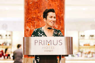 MC extraordinaire, International Traveller's Editorial Director, Leigh-Ann Pow.