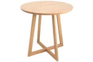 Noon Petite American Oak side table, from $385, kiraandkira.com.au