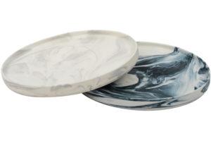 Olsen marble serving trays, $49.95 each, habitat101.com
