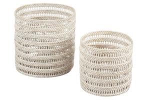 Set of round rattan baskets, $98, ecochic.com.au