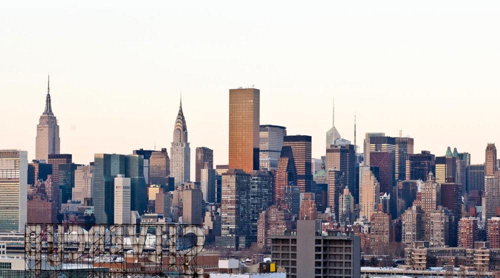 The ever-impressive NYC skyline.