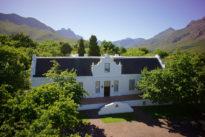 South Africa Stellenbosch Lanzerac Hotel Cape Winelands Jonkershoek