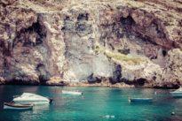 Xlendi Bay at Gozo Malta
