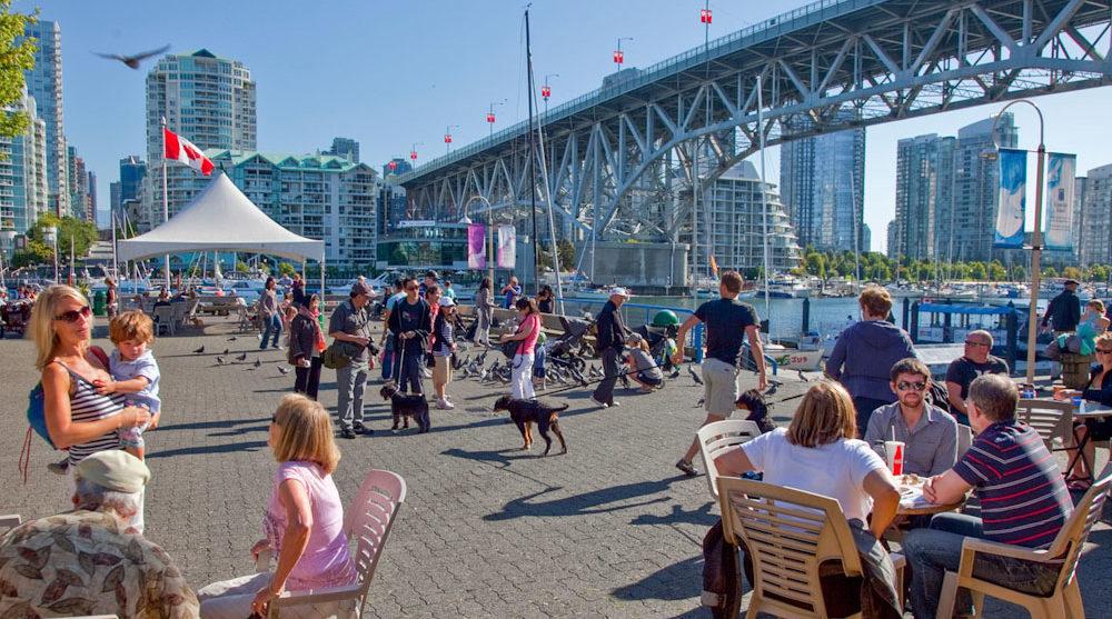 Canada Vancouver holidays granville island market