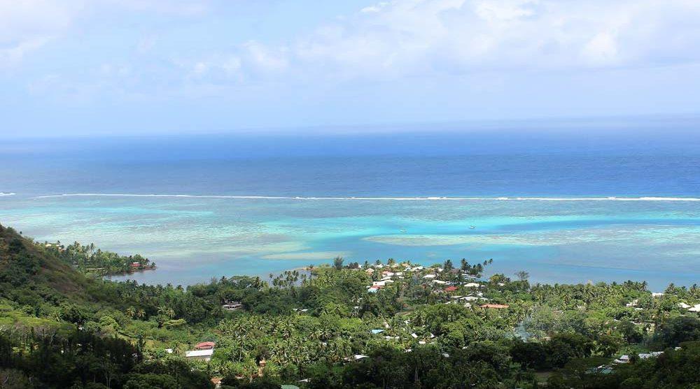island views french polynesia