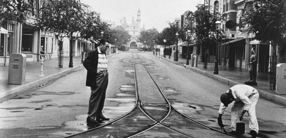Disneyland California in the 1950s