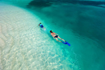 Snorkelling in New Caledonia