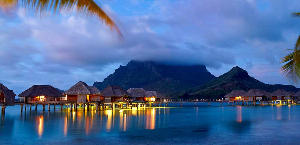 Four Seasons Bora Bora at Sunset
