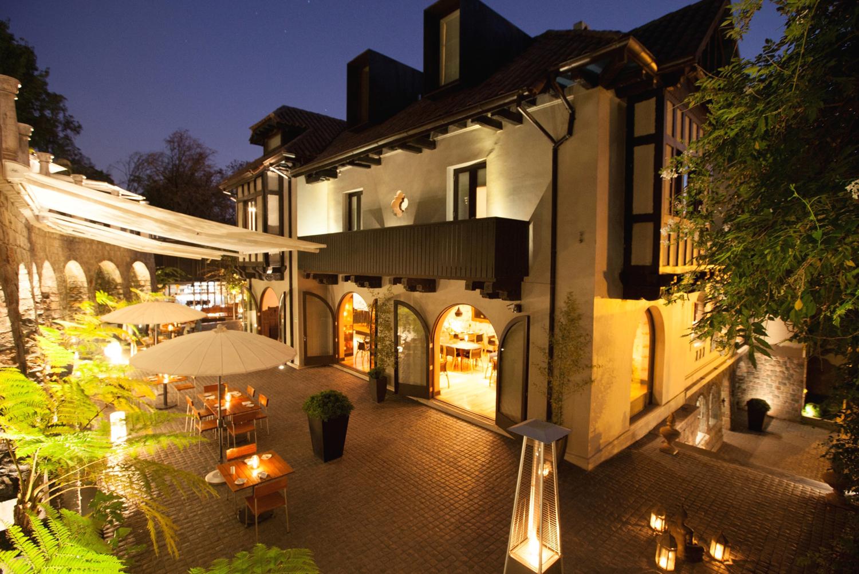 The restaurant at The Aubrey.