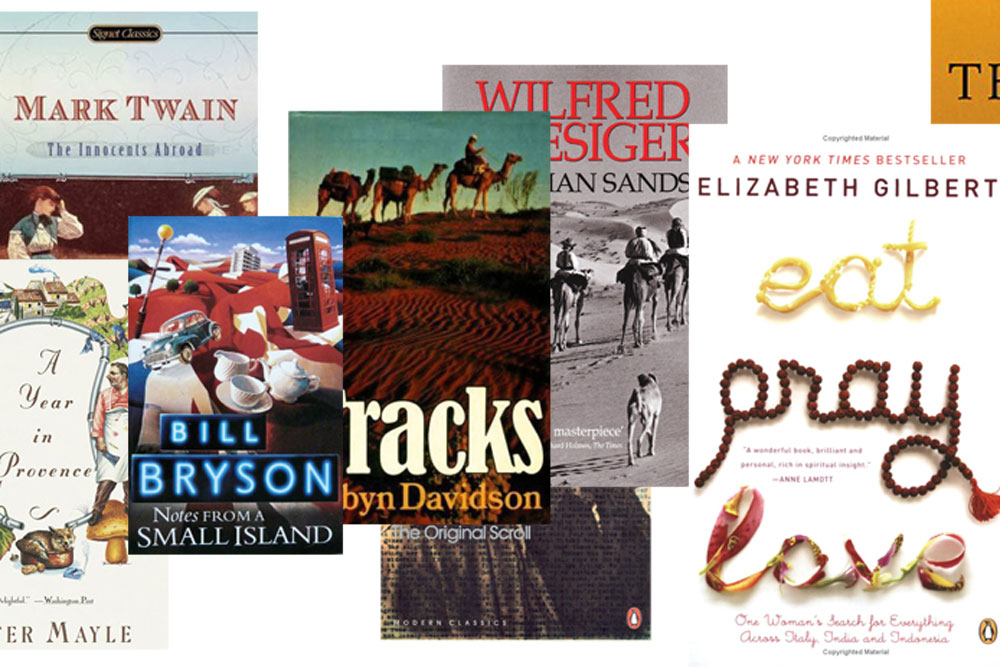 10 most influential travel books, revealed.