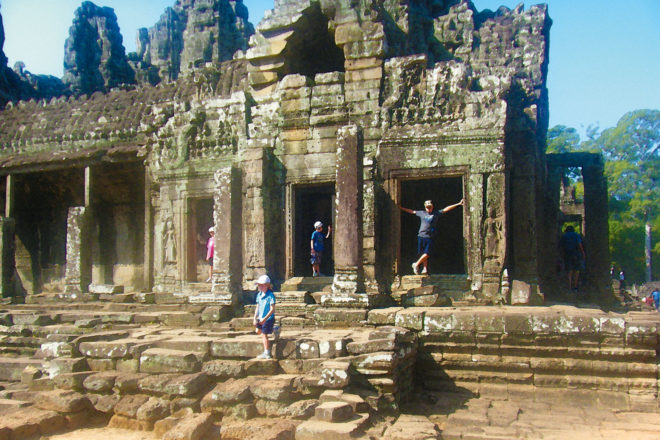 Family holiday featuring Cambodia's ancient temples.