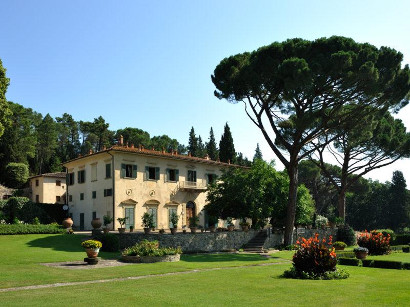 Villa Firenze near Florence, Italy.
