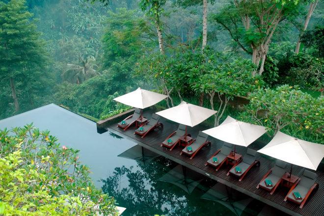 Maya Ubud Resort & Spa in Ubud, Bali.