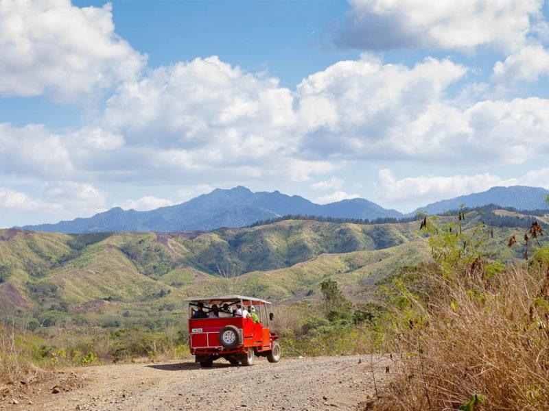 Off-Road Cave Safari Fiji landscape
