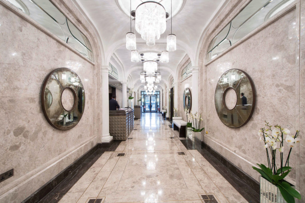 The Wellesley London hotel in Knightsbridge.