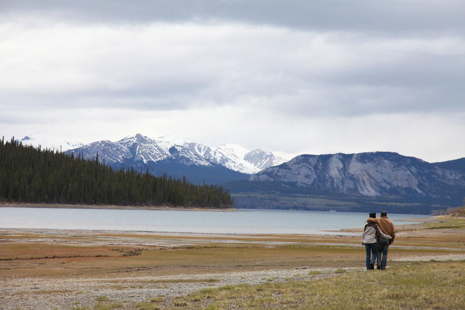 Tagish Lake in the Yukon, Canada.