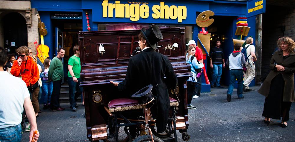 Pedalling Pianist, Edinburgh Fringe Festival
