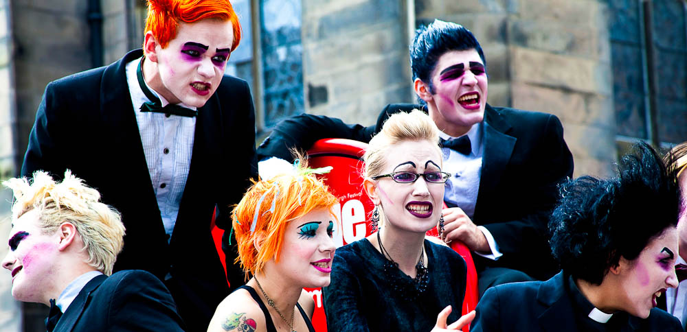 Street entertainment, Edinburgh Fringe Festival