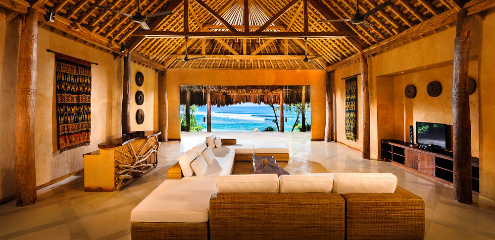 Inside guest suites at Nihiwatu Resort