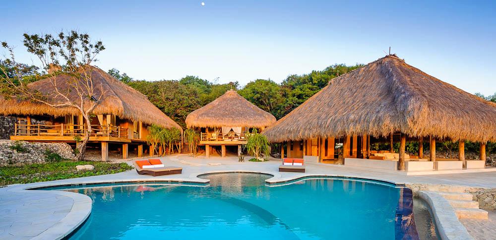 Divine pool area at Nihiwatu Resort