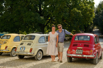 The 500 Touring Club in Florence, Italy.