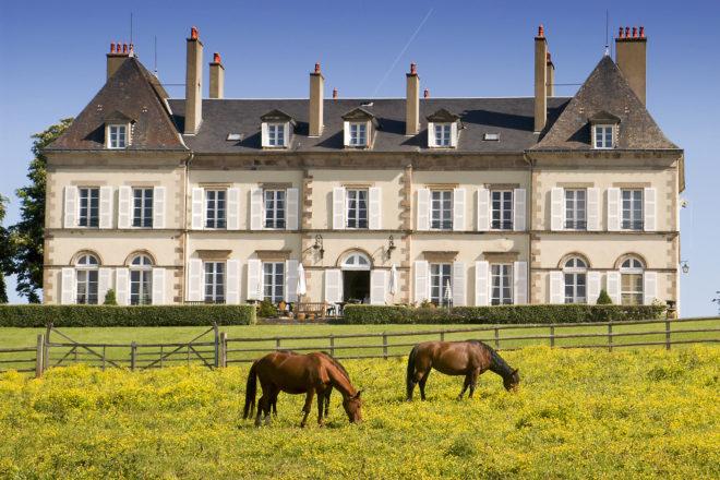 Chateau Ygrand, near Moulins, France.