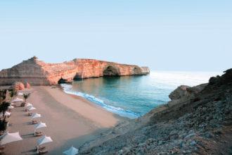 Shangri-La's Barr Al Jissah resort, Oman.