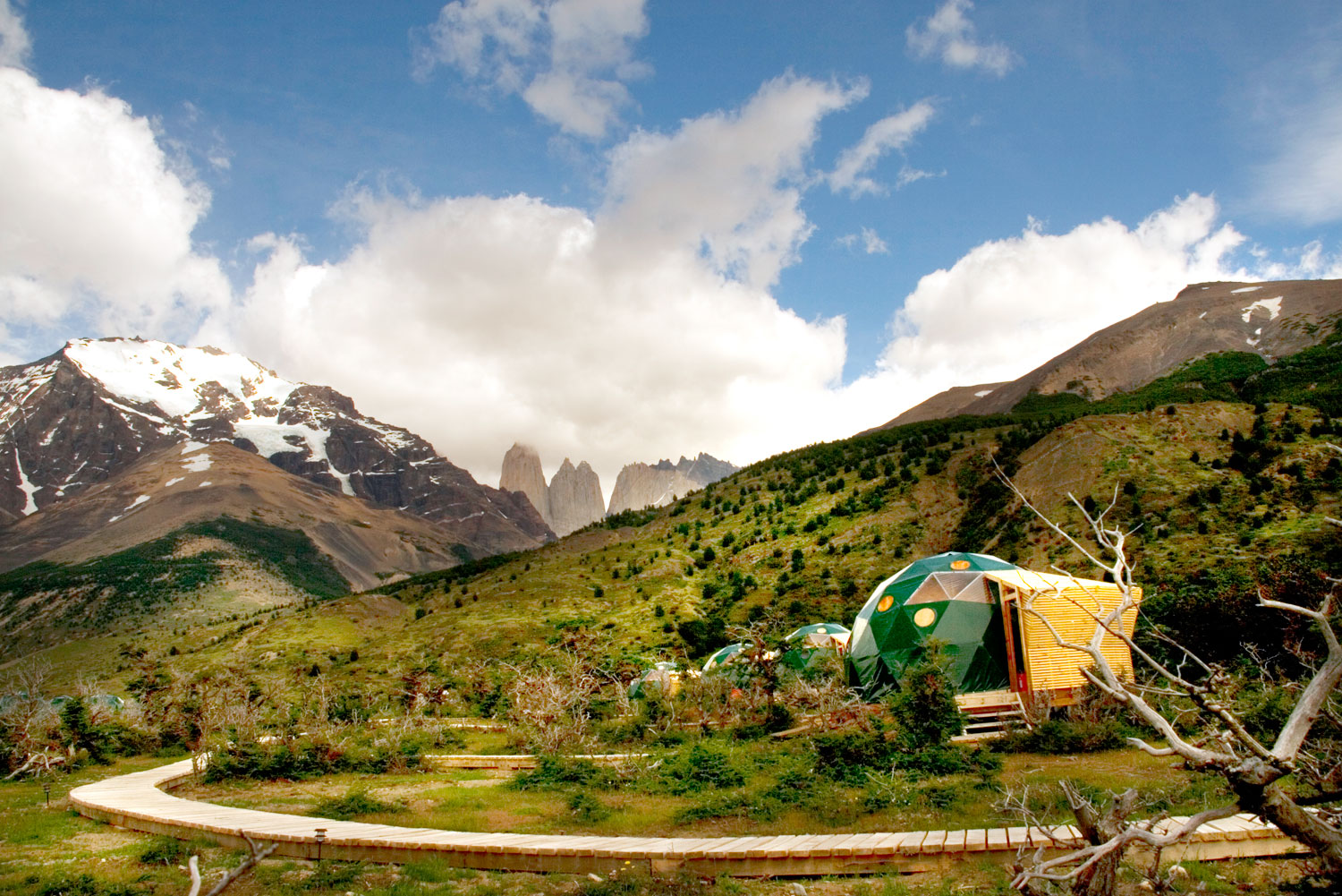 EcoCamp Patagonia in Torres del Paine National Park, Chile.