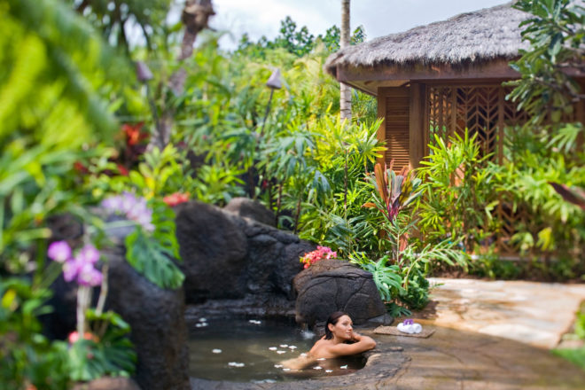 One of Hawaii's top spa resorts.