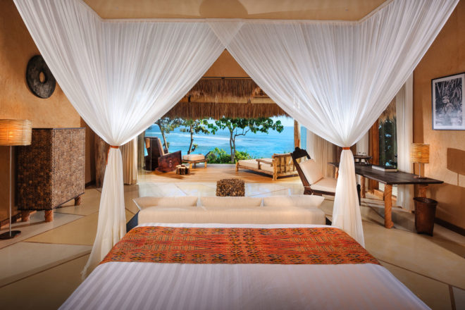 Tropical paradise at Nihiwatu Resort in Indonesia.