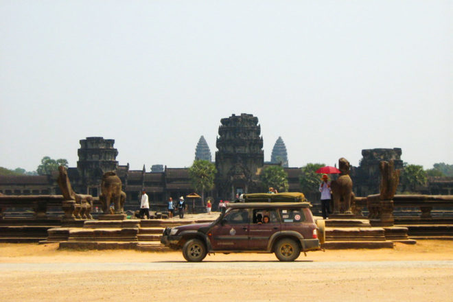 The majestic Angkor Wat in Cambodia.