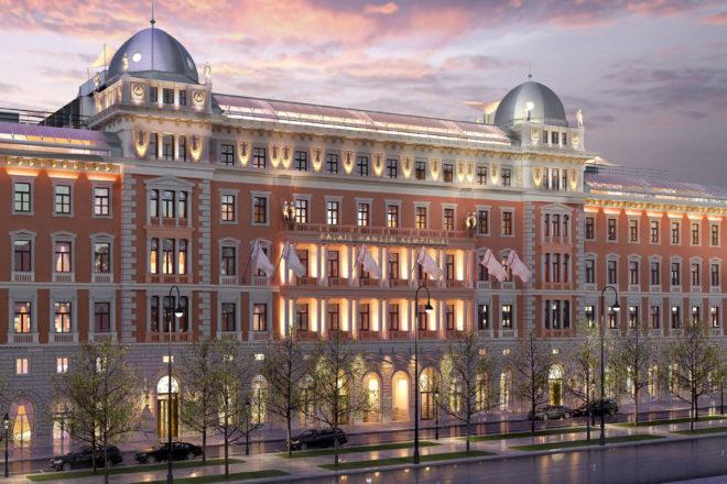 Vienna's landmark Palais Hansen.