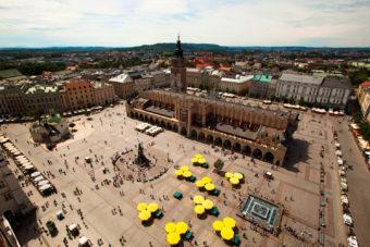 Rynek Glowny Market Place, Krakow.