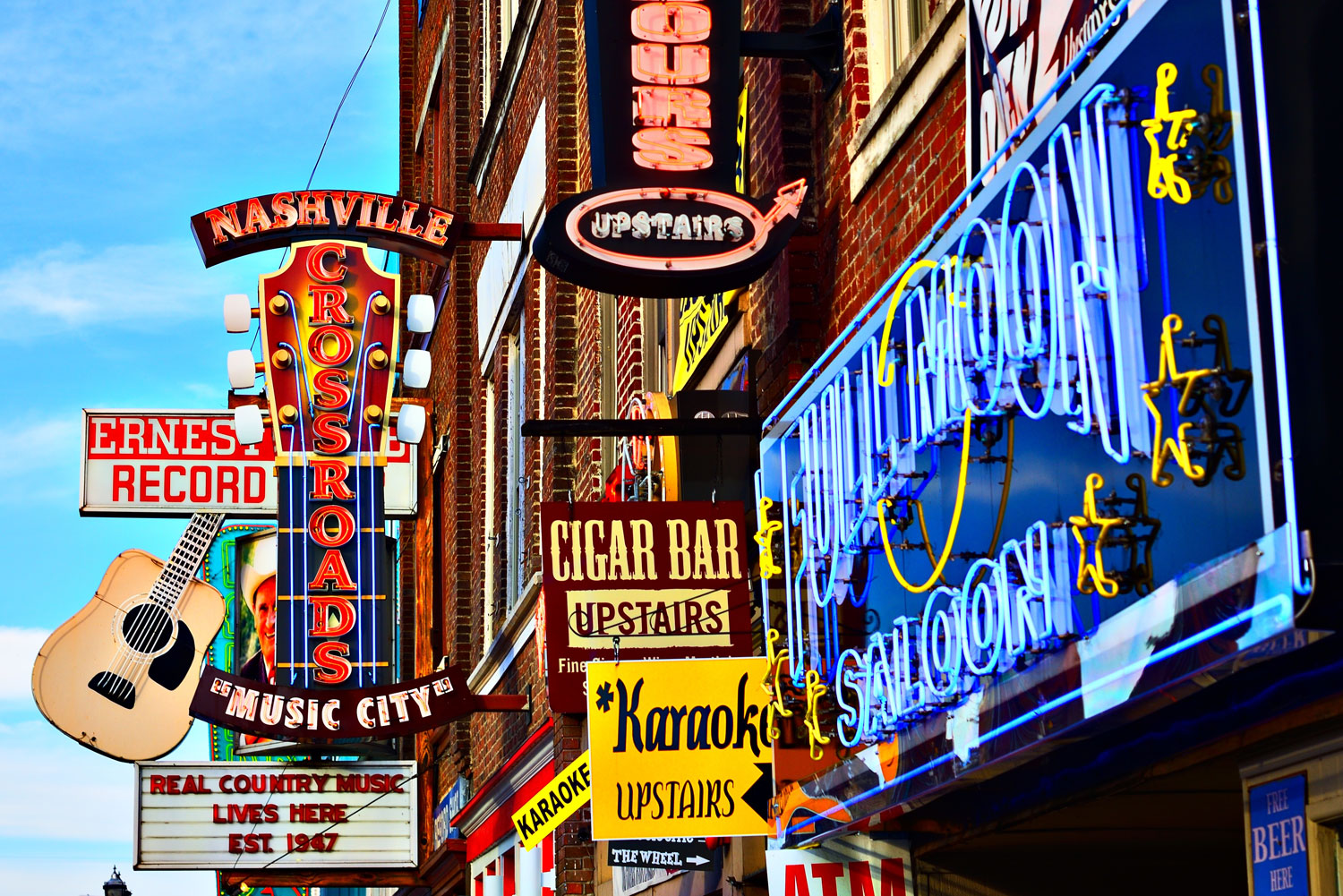 Nashville, Tennessee in America's Deep South.