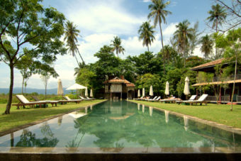 Temple Tree hotel on Langkawi Island, Malaysia.