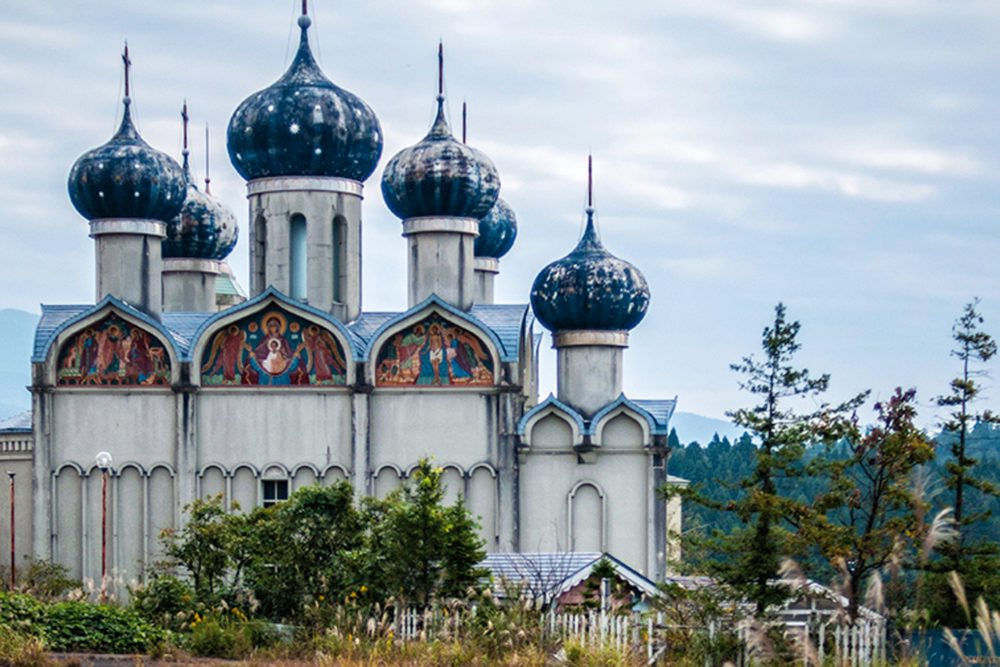 The eerily vacant theme park, Niigata Russian Village, six hours from Tokyo.