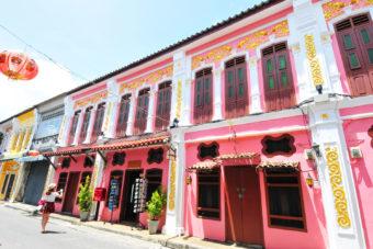 Old Phuket Town, Thailand.