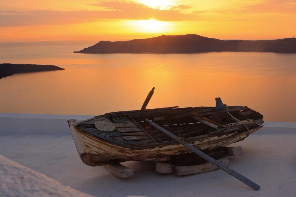 Captured by IT reader Brian Scott in Santorini, Greece.