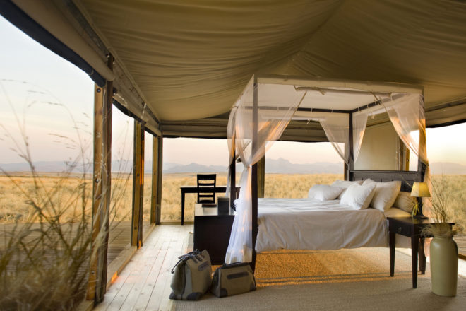 Dunes Lodge in NambiRand Nature Reserve, Namibia.