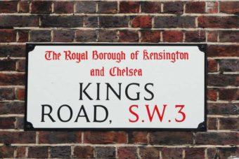 London Shopping Kings Road Chelsea