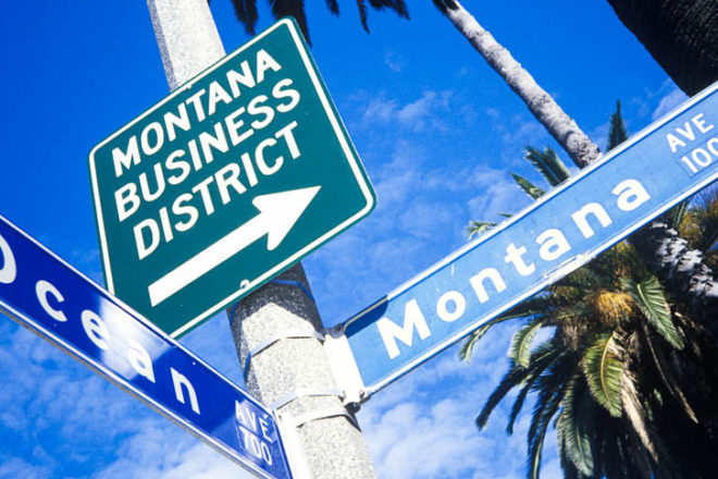 Santa Monica's Montana Avenue is a hub for all the major designers.