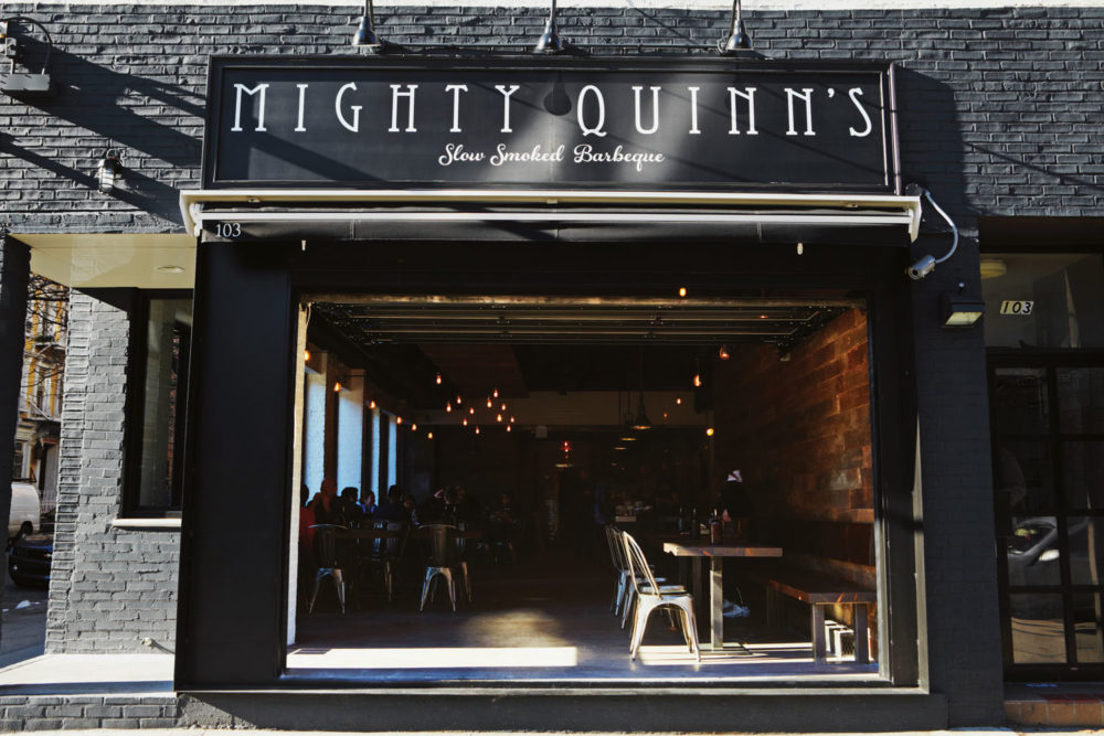 Mighty Quinn's barbecue restaurant has become a Manhattan institution.
