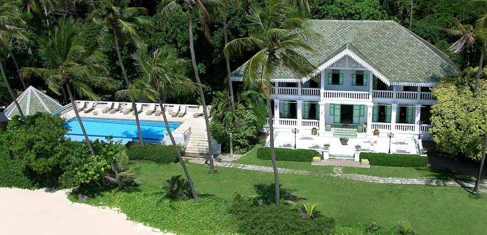 Island high: Cape Panwa Hotel, Phuket.