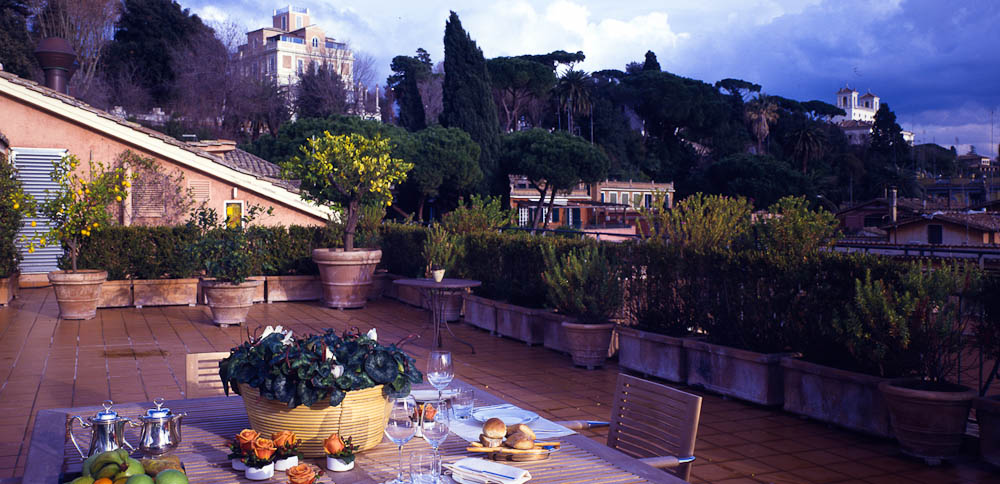 Review Hotel De Russie Rome Italy
