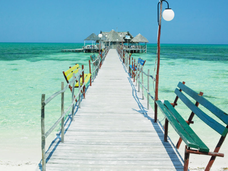 Stunning Caribbean waters off Cuba.