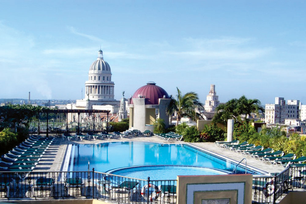 Iberostar Parque Central Hotel, Old Havana, Cuba.