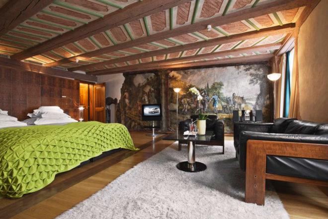 Widder Hotel, Zurich.